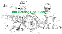 汉德469轻量化HDZ469后制动凸轮轴支座衬套/88000340017