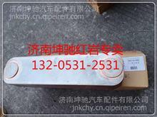 红岩杰狮上菲红发动机C11机油冷却器芯 热交换器C13/5801567892 FAT5801567892