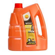 韦尔斯全合成机油 汽车机油润滑油 防冻机油A100  4L 5W 40 SP/GF- 6P