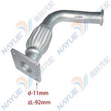 重汽豪沃轻卡原厂排气管 波纹管 LG9704540454/LG9704540658