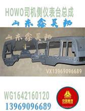 WG1642160120中国重汽豪沃原厂仪表台司机侧仪表台总成副仪表台/WG1642160120
