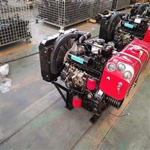 ZH4100G柴油机 44kw 叉车 装载机用柴油机带打气泵助力转向接口/4100.4102.4105