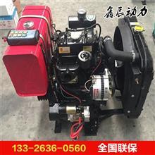 ZH4102ZC四缸柴油机 渔船出海捕捞专用 配带皮带轮机油冷却器