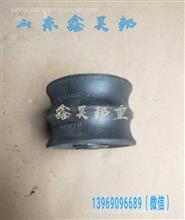 陕汽德龙F3000变速箱缓冲块DZ9114590125变速箱胶垫变速箱橡胶垫