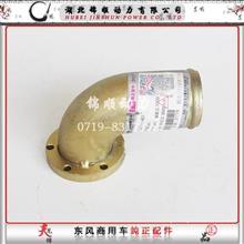 1306121-E1401东风天龙雷诺国5发动机水泵进水管接头/1306121-E1401