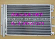陕汽德龙新M3000过冷式冷凝器总成/  DZ13241824370