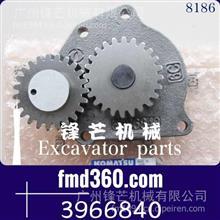 锋芒机械小松PC300-7 PC360-7挖掘机6D114机油泵3966840/3966840