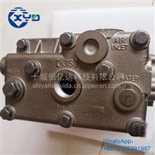 东风天龙玉柴天燃气发动机双缸空气压缩机打气泵M6000-3509100B/M6000-3509100B