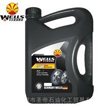 韦尔斯重负荷齿轮油手动变速箱油后桥油/GL-5 80W-90 4L