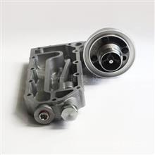 6742-01-5041机油冷却器座,适用小松PC300-7/360-7,6D114BB平台。 6742-01-5041