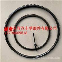 北京五十铃4JB1江铃JX493福田康明斯ISF3.8飞轮齿 马达起动机齿圈/原厂发动机飞轮齿圈飞轮壳配件