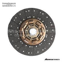 欧曼离合器从动盘总成三级减震 离合器片 F1432116180002A6899/F1432116180002A6899