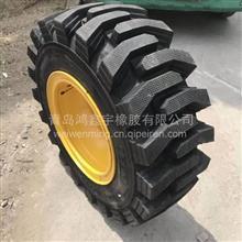 垃圾厂铲车专用轮胎  耐扎耐磨半实心钢丝胎20.5/70-16型号/20.5/70-16