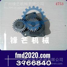 工程机械小松挖掘机配件PC360-7,6D114机油泵3966840/3966840