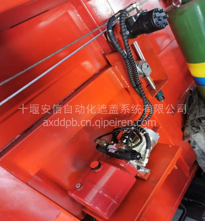 陕汽德龙渣土车砂石料车运输车液压动力单元系统/液压动力单元系统