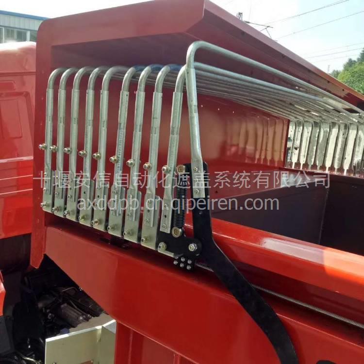 陕汽轩德渣土车砂石料车运输车液压动力单元系统/液压动力单元系统