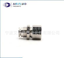AJPMF06-02全金属直通内牙穿板快插接头 不锈钢快速接头定制/现货供应