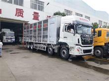 9.6米铝合金拉猪车,天龙铝合金运猪车现在是什么价格/天龙前四后八铝合金畜禽运输车