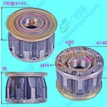 欧马可S奥铃M4中卡碟刹前轮芯前轴承单元/SH3103014-Bp001A1986