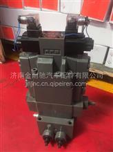TZ53717300050重汽豪威码头牵引车鞍座举升控制阀总成/TZ53717300050