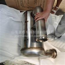 济南源头厂家直供712W15101-0032 SCR国Ⅴ消声器总成汕德卡消声器/712W15101-0032