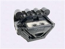 陕汽德龙X5000发动机后支撑  DZ9X259593000/DZ9X259593000