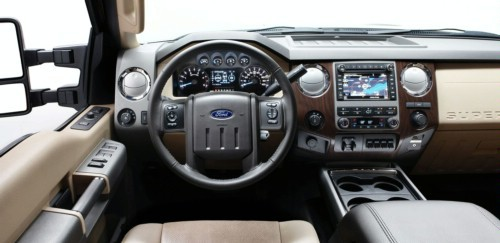 福特发布新款F系列涡轮增压八缸柴油皮卡福特,福特汽车,皮卡,柴高清图片