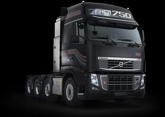 沃尔沃重卡发布750马力FH16新重型牵引车世界最强动力沃尔沃
