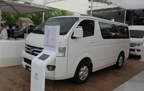 轻客市场又添新成员 福田新风景g7全国上市